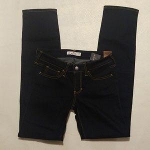 HOLLISTER SKINNY Darkwashed jeans
